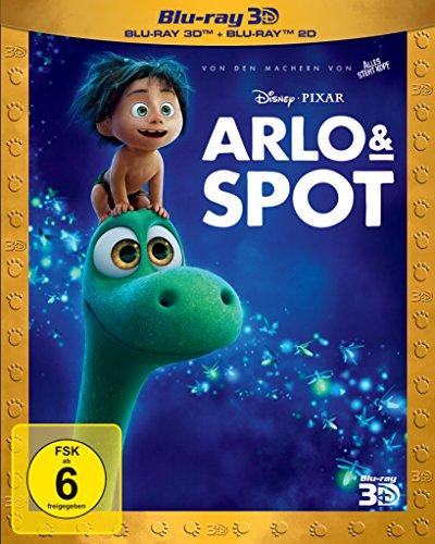 Arlo & Spot 3D+2D [3D Blu-ray]
