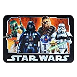 "Star Wars Rug HD Digital ep 5 Darth Vader, Yoda, Chewbacca, R2D2 Bedding Wall Decals Area Rugs, 40"" x 54"", Standard"