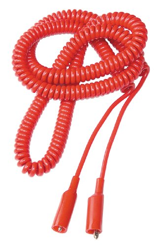 OTC 3903 24' Extra Long Coiled Cord Jumper Lead with Alligator Clips