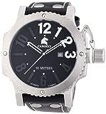 Carucci Watches CA2211BK - Orologio da polso uomo, caucciú, colore: nero