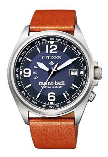 [シチズン] 腕時計 プロマスター エコ・ドライブ 電波時計 『プロマスター x mont-bell』コラボレーションモデル 500本 CB0171-11L メンズ ブラウン