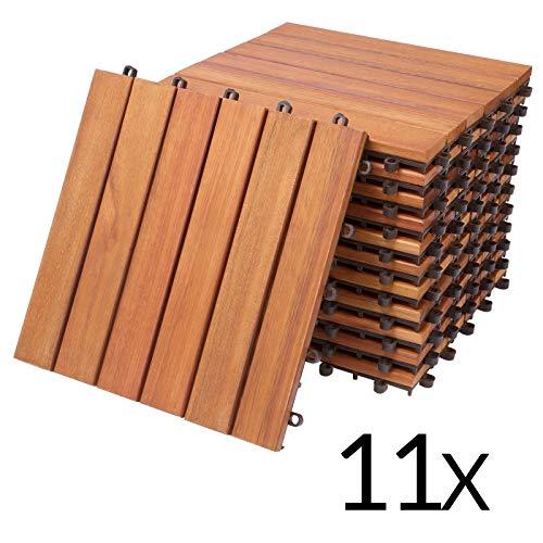 Deuba Set de 11 baldosas