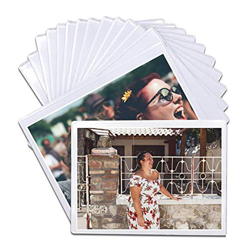 DIYSELF 14 Pack Magnetic Picture Frames for Refrigerator 5'x7' Picture Frame, Refrigerator Magnets, Fridge Magnets, Magnetic Photo Pocket