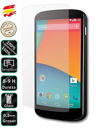 Movilrey Protector para Google LG Nexus 5 D820 D821 Cristal Templado de...