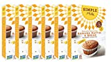 Simple Mills Almond Flour Mix, Banana Muffin & Bread, 9 Ounce (Pack of 6)