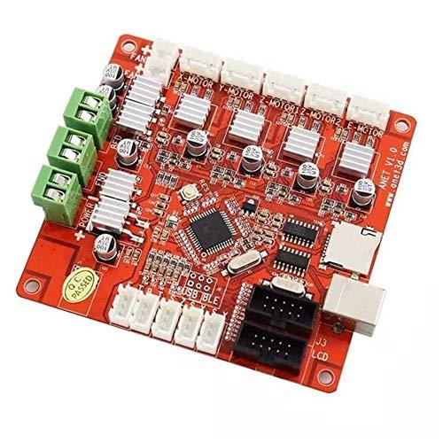 YHtech Módulos de Placa Base del Controlador de Impresora RepRap Prusa 3D Anet V1.0 3D de la Impresora Tablero de Conductor