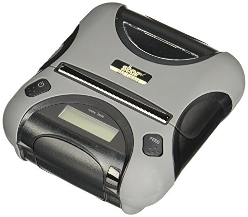 Star Micronics, SM-T300I-DB50, Durable Portable Receipt Printer, 3', Bluetooth/Serial for iOS/Android/Windows, Tear Bar, Power Supply Incl.