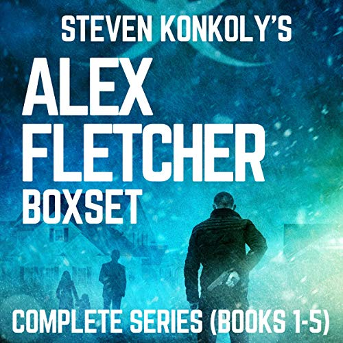 Alex Fletcher Boxset, Complete Series Books 1-5                   By:                                                                                                                                 Steven Konkoly                               Narrated by:                                                                                                                                 John David Farrell                      Length: 37 hrs and 55 mins     18 ratings     Overall 4.6