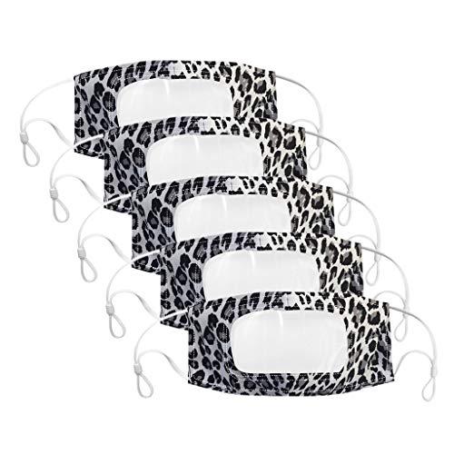 Cuteelf Face Cover Unisex Multifunktionstuch Motorrad Fahrrad Joggen Schal Gesichtsschutz Mundschutz Halstuch Wiederverwendbare Bandana