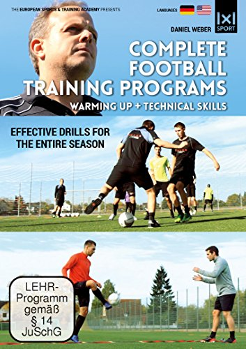 Complete Football Training Programs Warming up + Technical Skills | Effective Drills for an entire Season