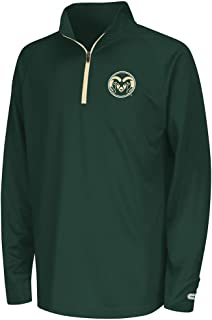 Youth Colorado State Rams Quarter Zip Wind Shirt