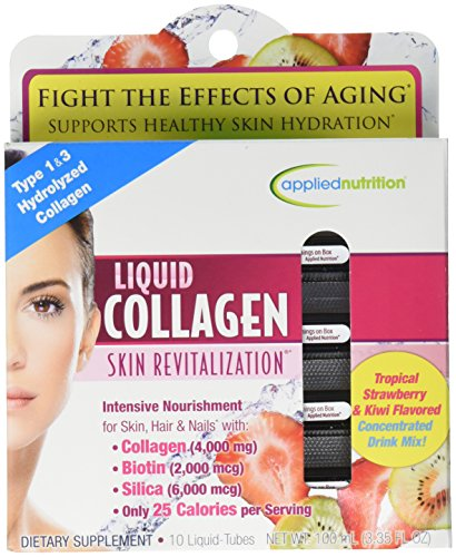 Liquid Collagen Skin RevitalizationTM 4000 mg / 10 Tubes skin care