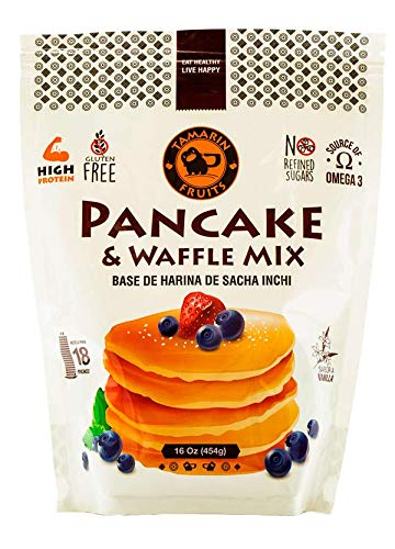 High Protein Gluten Free Pancake & Waffle Mix (Vanilla, 2 pack (2 lbs))