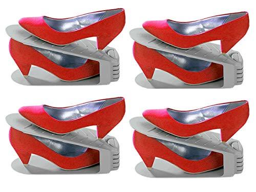 Wenko Schuhhalter 4er Set Schuhe Ordnung Schuhschrank