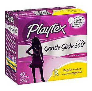 Playtex Gentle Glide Tampons, Deodorant