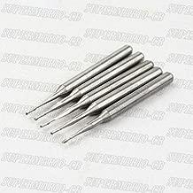Shina 5 x 1.0mm 1mm 2 Flute Carbide Ball Nose End Mills Router CNC Bit 4mm CEL