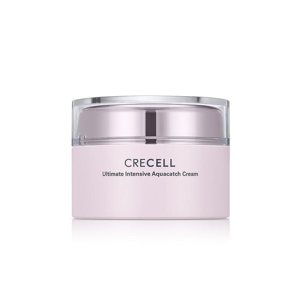 サイト勃起衝撃CRECELL Ultimate Intensive Aquacatch Cream【クレセルアルティメットアクアキャッチクリーム】すべての肌タイプ クリーム 皮膚の水分と油分を補い保つ 韓国コスメ 50g