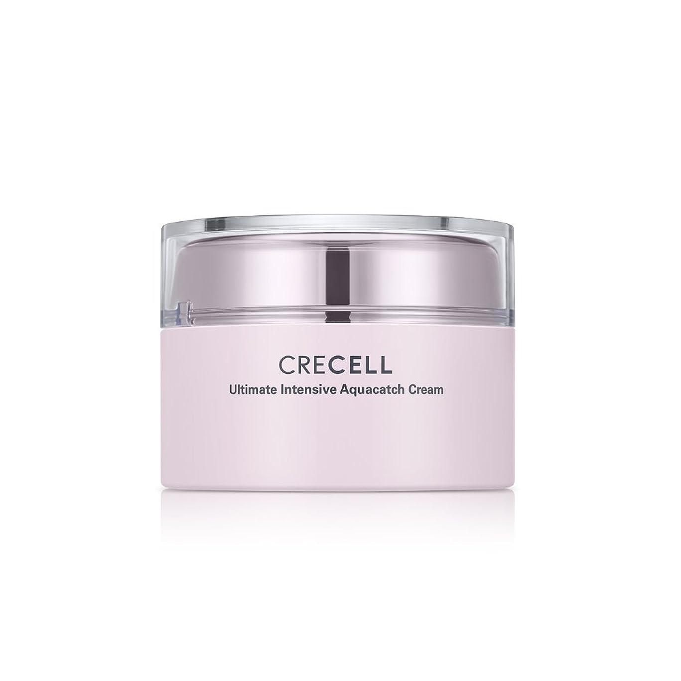 口述不倫つぶすCRECELL Ultimate Intensive Aquacatch Cream【クレセルアルティメットアクアキャッチクリーム】すべての肌タイプ クリーム 皮膚の水分と油分を補い保つ 韓国コスメ 50g