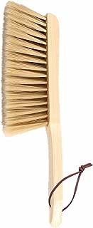 Huibot Hand Broom Soft Bristles Natural Small Dusting Brush Wooden Handle