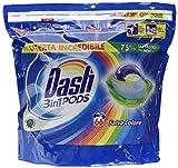 Dash All in 1 Pods Detergente en cápsulas Salva Color Maxi Formato 2 x 66, 132 lavados