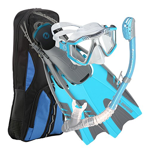 U.S. Divers Men's Lux Snorkel Combo Set