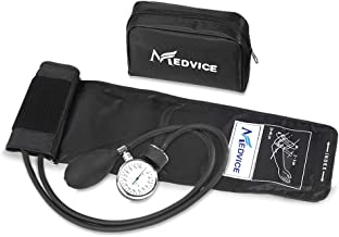 Medvice Manual Blood Pressure Cuff – Universal Size Aneroid Sphygmomanometer..