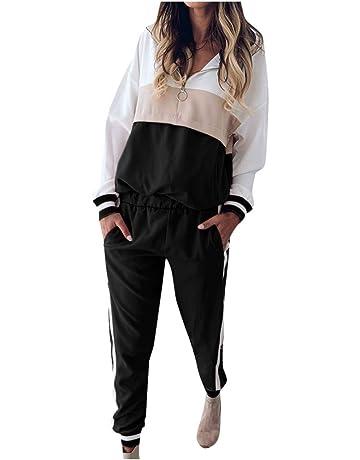 2 PCS Felpa SUDADY Tuta Donna Elegante Ginnastica Pantaloni Leopardo Maglia Ragazza Sportivi Vestiti Completo Pullover Tute Intera Abbigliamento Pigiama Tracksuit Palestra allAperto