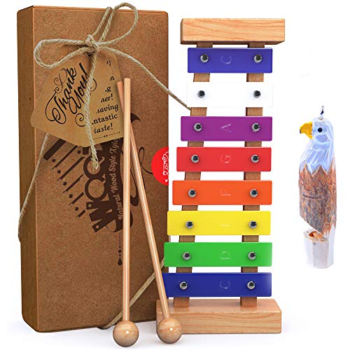 aGreatLife Wooden Xylophone for Kids