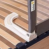 Safety 1st tragbares Bettgitter für Sicherheit beim Schlafen verhindert das Herausfallen aus dem Bett ideal für die Reise und kompakt zusammenfaltbar (nutzbar ab 1,5 Jahren bis max. 22 kg), grau - 2