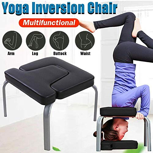 Why Choose Isaa Miilne Yoga Headstand Bench, Inversion Chair Home Gym Fitness and Strength Training