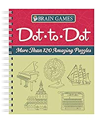 Image: Brain Games - Dot-to-Dot: More than 120 Amazing Puzzles | Spiral-bound: 160 pages | by Publications International Ltd. (Author). Publisher: Publications International, Ltd. (August 28, 2013)