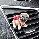 XIEJUN Autodekoration Car Vent Clip Nette Dekoration Französische Bulldogge Corgi Beagle Figur Schöne Autos Innen Outlet Dog Decor Zubehör