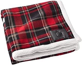 Case IH International Harvester Plaid Bundle-Up Sherpa Blanket