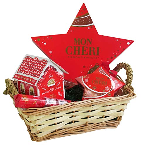 Geschenk Set Merry Christmas mit Ferrero Mon Chéri (4-teilig)