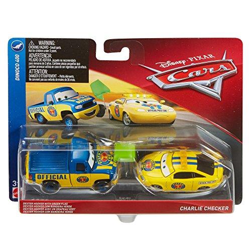 Disney Pixar Cars Character Car Dexter Hoover Charlie Checker