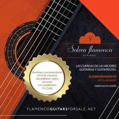Set de Cuerdas para guitarra Solera Flamenca STRINGS