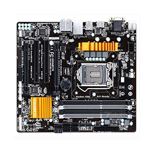 WSDSB Carboard Fit for Gigabyte Ga-H97M-D3H H97 Slot LGA 1150 DDR3 USB 3.0 SATA3.0 Mainboard Commercial