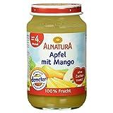 Alnatura Demeter Bio Apfel-Mango, glutenfrei, 6er Pack (6 x 190 g) -