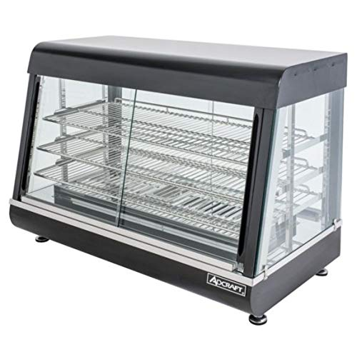 Adcraft HD-26 26-Inch Electric Heated Countertop Display Case, 120v
