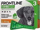 Frontline Combo, 3 Pipette, Cane Taglia S (2 - 10 Kg), Antiparassitario per...