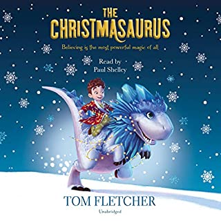 The Christmasaurus audiobook cover art