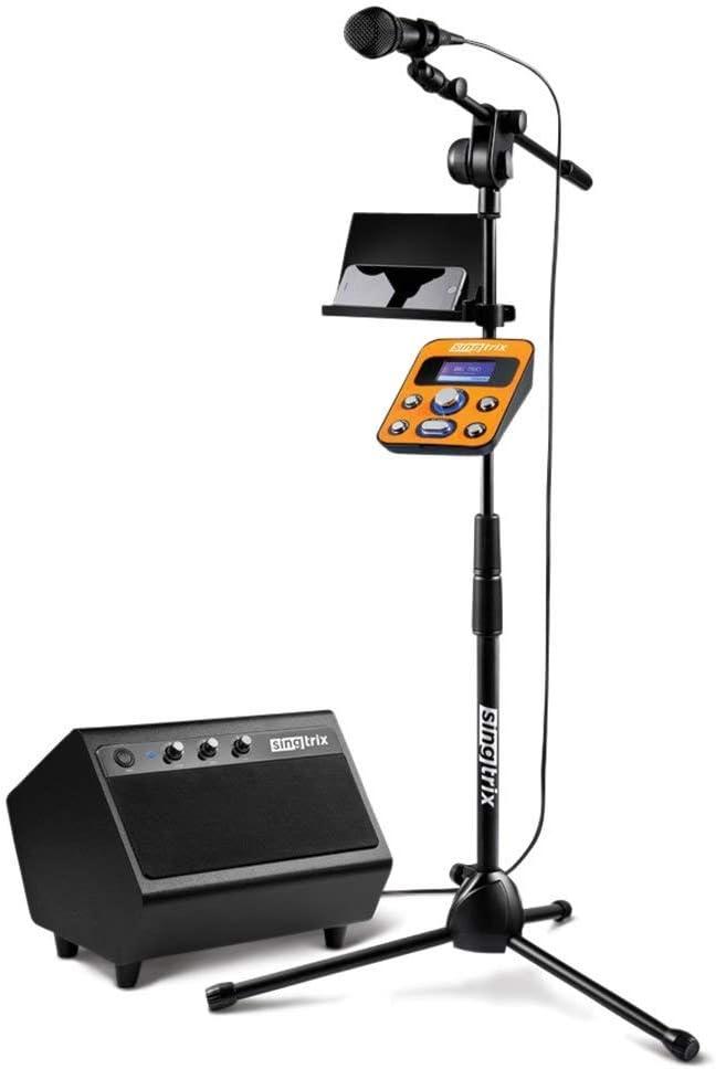 Singtrix (SGTX1S - Party Bundle Premium Edition Home Karaoke System, Studio Effects (Renewed)