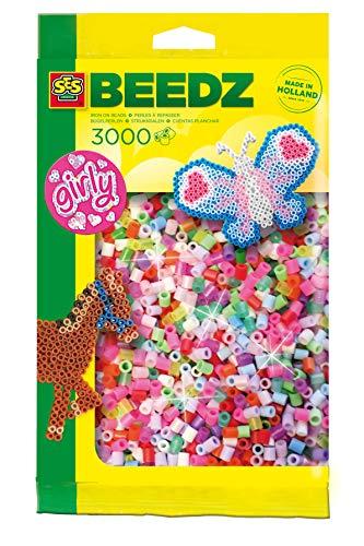 Ses France - 00777 - 3000 Perles À Repasser - Gilry Mix