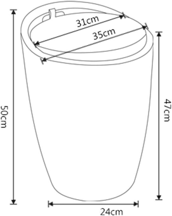 LONGren Tabouret Tabouret en Cuir Changement de Chaussures Banc de Rangement Chaussures Tabouret Barrel Chaise Chaise de Stockage (Color : J) D