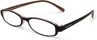 エッシェンバッハ 老眼鏡 +1.5 度数 リーディングMEGANE 弾性フレーム 日本製 ブラウン 2994-3415