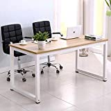 """Mecor 43""""Large MDF Computer Office Desk PC Laptop Table Study Work-Station Home Office Furniture Wood"""