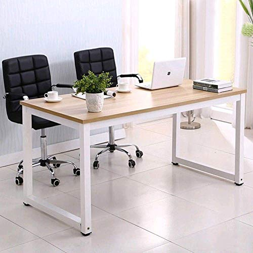 "Mecor 43""Large MDF Computer Office Desk PC Laptop Table Study Work-Station Home Office Furniture Wood"