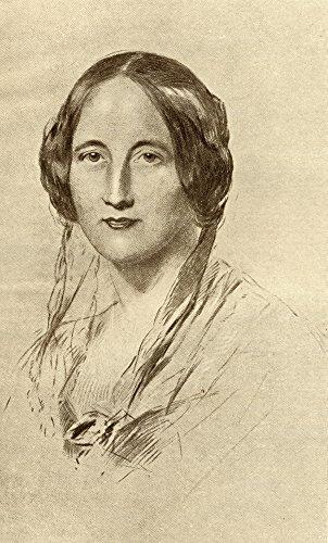 Impressão de pôster Elizabeth Cleghorn Gaskell 1810-1865 Inglês Novelist from The Book 44; Grande - 56 x 96 cm
