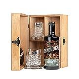 Mentidero Archetype Craft Whisky Puro de Malta - 5 años Blended-Cask 70cl - Set Regalo con 2 vasos