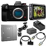 Panasonic Lumix DC-S1H Mirrorless Digital Camera with Atomos Ninja & Drive Bundle